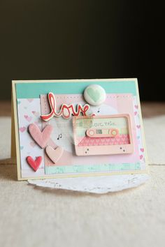 Crate Paper - Valentines Day card