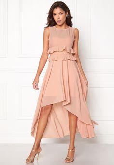 Chiara Forthi Meringue Stretch Dress Kjole Pudderrosa - Bubbleroom