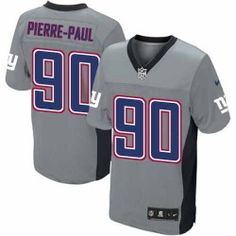 Shop for OfficialNFL Mens Elite Nike New York Giants #90 Jason Pierre-Paul Grey Shadow Jersey. Get Same Day Shipping at NFL New York Giants Team Store. Size S, M,L, 2X, 3X, 4X, 5X.$129.99