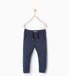 Twill stretch trousers-TROUSERS-BOY | 4-14 years-KIDS | ZARA United Kingdom