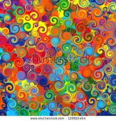 COLORFUL WAVES AND SWIRLS Stock Photos, COLORFUL WAVES AND SWIRLS Stock…