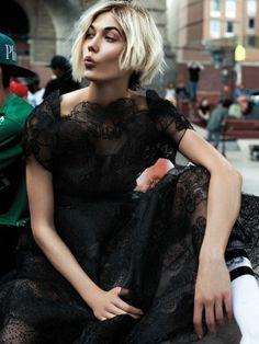 Bob--Karlie Kloss for Interview magazine