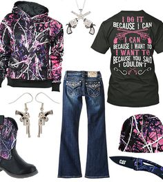I Do It Because I Can Outfit - Real Country Ladies -I would love to have this lol, so coool looking- ~Lakota~
