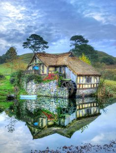 The Water Mill in Repose from #treyratcliff at www.StuckInCustoms.com - all images Creative Commons Noncommercial.