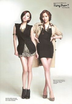 Brown Eyed Girls GaIn and MiRyo Cabello Hair, Brown Eyed Girls, Fashion Lookbook, Girl Costumes, Brown Eyes, Pop Fashion, Korean Girl Groups, Kpop Girls, Pretty Girls