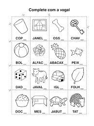 Resultado de imagem para atividades de alfabetização 1 ano