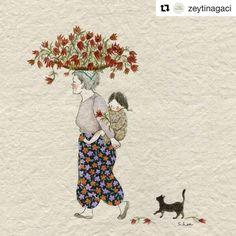 "1,036 Likes, 6 Comments - Babi Bernardes (@bordados_e_bordadeiras) on Instagram: ""@zeytinagaci #embroidery #broderie #bordado #ricamo"""