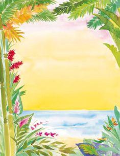 hawaiian invitations free