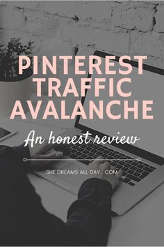 An review of the Pinterest Traffic Avalanche course by Create and go. How to increase blog traffic organically through the power of Pinterest. #createandgo #pinterestmarketing Make Money Blogging, How To Make Money, Blogging For Beginners, Pinterest Marketing, Investing, About Me Blog, Teaching, Tools, Create