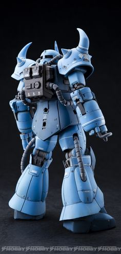 Dengeki GAS's 1/144 HG Prototype Gouf Tactical Demonstrator: Improved, Weathered. Full Photo Review Many Big Size Images | GUNJAP