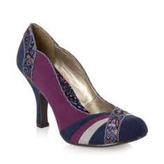 RUBY SHOO Heather Court Shoes PURPLE