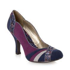 RUBY SHOO Heather Court Shoes PURPLE