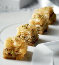 baklavas with Aegina pistachios