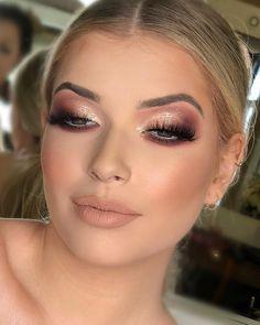 Hair Makeup Wedding Make Up Ideas Wedding Makeup Tips, Prom Makeup, Wedding Hair And Makeup, Bridal Makeup, Hair Makeup, Wedding Nails, Makeup Lipstick, Make Up Looks, Makeup Inspo