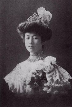 d6c8f2f355599c Princess Nashimoto Itsuko 梨本宫伊都子王妃 ジャパニーズビューティー, ヴィンテージビューティー, 古い写真,