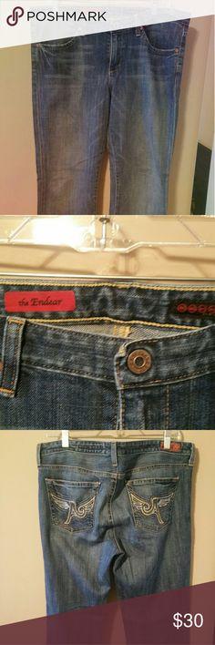 "A.G. ""the Endear"" Straight Leg Jean Size 32 waist  and 30 Length. 98% cotton, 2% polyurethane. EUC. AG Adriano Goldschmied Jeans Straight Leg"