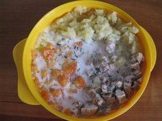od ukončeného 10. měsíce - Recepty nejen pro děti Cheeseburger Chowder, Food And Drink, Soup, Soups