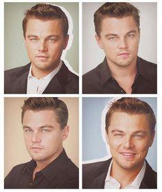 Leonardo DiCaprio Photo Collage