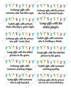 Christmas Gift Exchange Games, Christmas Fun, Christmas Ornament, Holiday Party Games, Party Fun, Party Ideas, Gift Ideas, How To Remove Lipsense, Gift Card Exchange