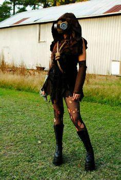 Amazing Femme Scarecrow Cosplay