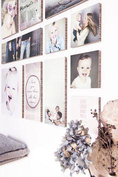 Wand inspiratie | Foto collage mbv Ogu