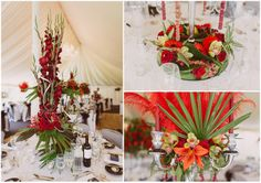 Alan and Tony's Black, White and Red Grand Manor House Wedding. By Paul Underhill