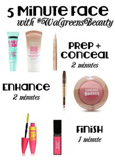 Drugstore Beauty: 5 Minute Face #walgreensbeauty #shop #cbias