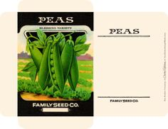 All-Occasion Seed Packets: Free Graphics | Just Something I Made