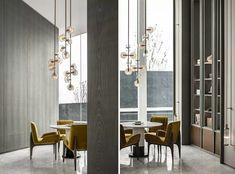 无间设计   透明的天空之境 - 臻和园 Sales Office, Resort Villa, Sofa Chair, Luxury Living, Interior Decorating, Lounge, Wall Decor, Living Room, Modern