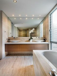 badezimmer gestalten mit fliesen aus naturstein und moderner, Hause ideen