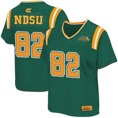 North Dakota State Bison Women s Blitz Football Jersey - Green 55a766ca7