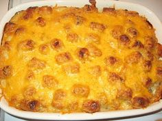 Faith, Food and Family: Duggar Family Tater Tot Casserole