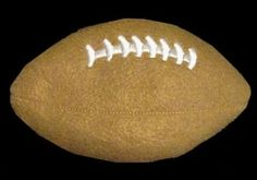 Football Rice Bag - 2 Sizes! | What's New | Machine Embroidery Designs | SWAKembroidery.com Band to Bow