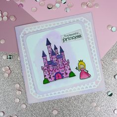 Card created using For the Love of Stamps Pretty Princesses Stamp Set