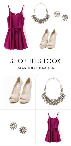 """""""Miyoko"""" by acrmen ❤ liked on Polyvore featuring Nly Shoes and Valentino"""