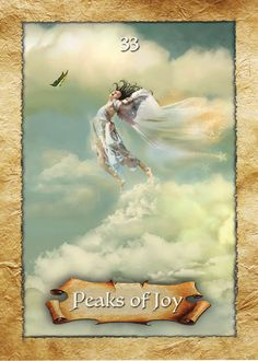 Peaks of Joy ~ The Enchanted Map Oracle Cards by Colette Baron-Reid Doreen Virtue, Angel Cards, Oracle Cards, Spirit Guides, Card Reading, Tarot Decks, Deck Of Cards, Tarot Cards, Artist