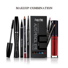 1 Set Women Fashion Makeup Set Gift Eyeliner Eyebrow Pencil Sexy Lipstick Mascara Tool Cosmetic Makeup Kit RP1-5|af6619e9-dd78-4969-96e9-7d5e9da4b7fd|Makeup Sets