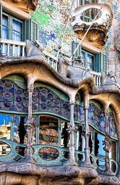 Casa Batll, Barcelona, Spain
