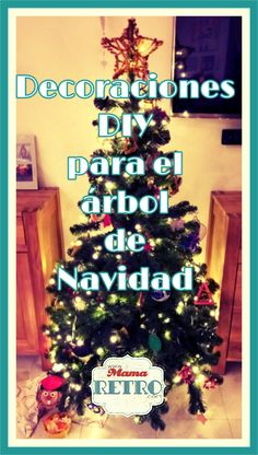 Nuestra pequeña tradición navideña no solo envuelve hacer un belén. También añadimos cada año algo nuevo a nuestro árbol de navidad