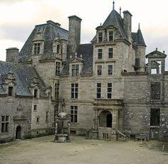 Chateau Kerjean - Brittany France