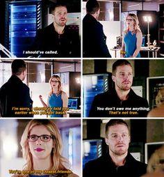 Arrow - Felicity & Oliver #3.16 #Season3 #Olicity ♥♥♥