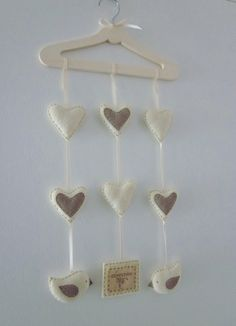 Dream Wall Hanging/ Mobile by LookHappyShop, via Flickr