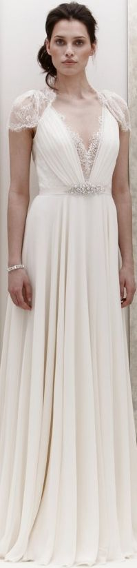 Dress inspiration - designer will be incorporating elements of this dress into my dress.   Jenny Packham Bridal 2013 - Dentelle