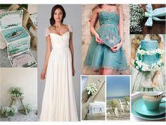 Jade : PANTONE WEDDING Styleboard : The Dessy Group