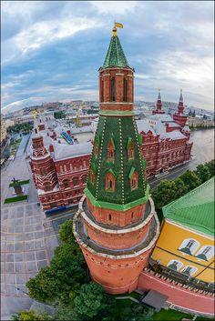 У стен Кремля (airpano.ru)