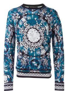 e3967fb79cb73 baroque print sweater Versace Men
