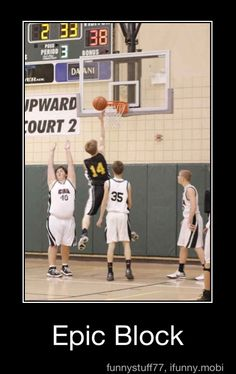 Hahaha epic block!