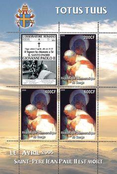 ***P0534 Jan Paweł II Papież Polak Il Santo Papa