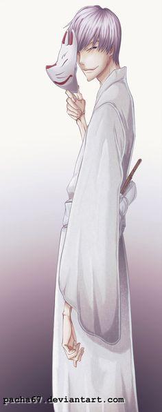 Ichimaru gin painting by One67.deviantart.com on @DeviantArt