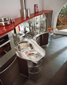 Schön Moderne Kleine Küche Design Von Snaidero | Desgin | Pinterest | Interiors  And Kitchens
